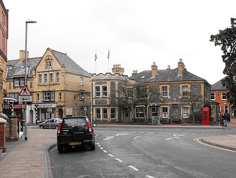 Some of the Victorian architecture of Llandrindod Wells