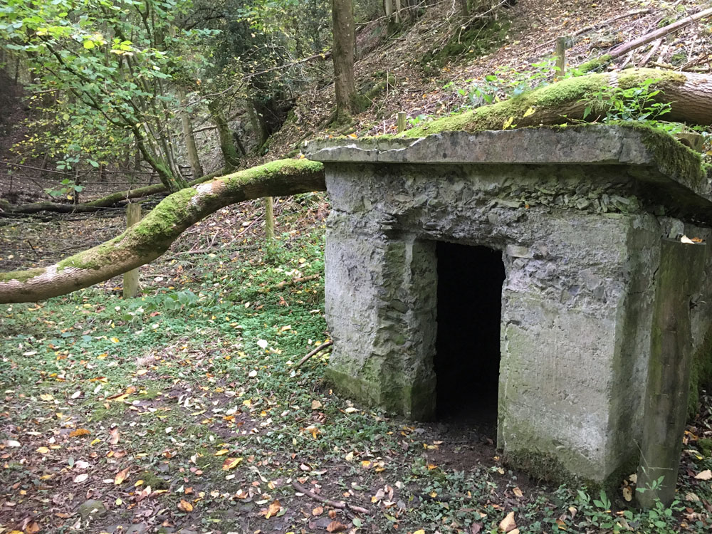 Remains of Explosives Store for Birmingham water pipeline