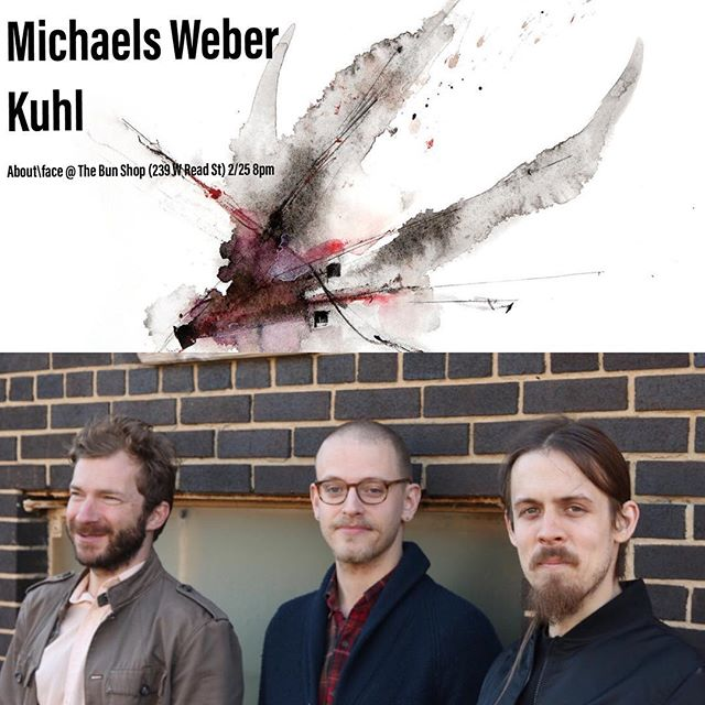 "Our first addition to our very first show of 2018 is Michaels Weber Kuhl! Catch them and much more on Sunday, February 25, 8pm at The Bun Shop! (239 W Read St.) Stay tuned for more exciting announcements.  Michaels Weber Kuhl is a Baltimore-based trio featuring Derrick Michaels on tenor saxophone, Alex Weber on double bass, and Mike Kuhl on drums. Their music is a fluid coalescence of chamber jazz, post bop, and free improvisation. Each performance is a cooperative and mystical contemplation of form, harmony, melody, synchronicity, and resonance. The band released their debut album ""Before We Speak"" in December 2017.  Hear ""Before We Speak"": https://michaelsweberkuhl.bandcamp.com/releases (artwork by Ryan Dupre)"
