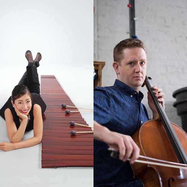 Swing by The Bun Shop on April 8 to see percussionist Nonoka Mizukami an cellist Peter Kibbe present Ted Hearne's 'Furtive Movements' and David Lang's 'Stuttered Chant'! ----- Sunday, April 8, 8pm at The Bun Shop (239 W Read St). FREE w/ suggested donation. BYOB. ----- Sunday, April 8, 8pm at The Bun Shop (239 W Read St). FREE w/ suggested donation. BYOB. ----- Nonoka Mizukami, born in Fukui Japan, began playing the piano at the age of two, and started to play marimba by age ten. Ms. Mizukami placed second at the KOBE International Music Competition with an Excellence Award and The Kobe City Board of Education Award in 2007, and she concertized with Central Aichi Symphony Orchestra and Kyoto Philharmonic Chamber Orchestra in 2014. Ms. Mizukami received a Bachelor's Degree and a Graduate Performance Diploma from the Peabody Institute of the Johns Hopkins University, where she is also currently pursuing her Master's of Music thanks to the Leonard Sandler Scholarship. Her current project is to record Table Music by Thierry De Mey with her cat brother Bjorn, who proudly weighs 21 pounds. ----- Cellist Peter Kibbe, son of Los Angeles and proud citizen of Baltimore, enjoys a career as an orchestral and chamber musician in and around Baltimore. Peter is currently a member of several ensembles in Baltimore, including The Baltimore Chamber Orchestra, which performs a diverse range of classical and romantic era pieces, and is a founding member of Pique Collective (www.piquecollective.org), an acclaimed chamber group dedicated to uncommon music in uncommon venues. Peter also enjoys performing with Mind on Fire, a large modular ensemble dedicated to performing premiers, commissions, and hot new music. Mr. Kibbe has enjoyed finding himself in many varied and eclectic performance settings during his career, including symphony halls, historic cathedrals, coffee houses, summer festivals, recording studios, night clubs, libraries, grassy fields, cruise ships, kindergartens and amphitheaters, and is always glad to play for open ears. He happily plays on a 2004 Cremonese instrument made by Roberto Collini.