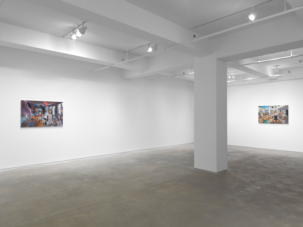 Mark Greenwold: The Rumble of Panic Underlying Everything - February 18 – April 2, 2016Garth Greenan Gallery, New York