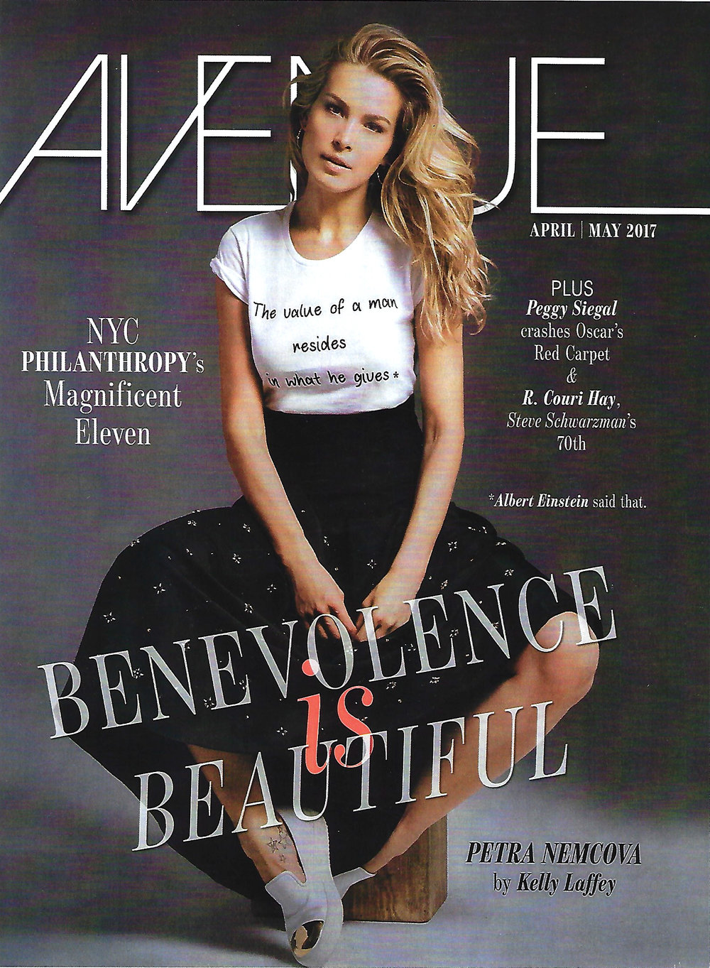 Avenue Magazine - True Colors_cover_May 2017.jpg