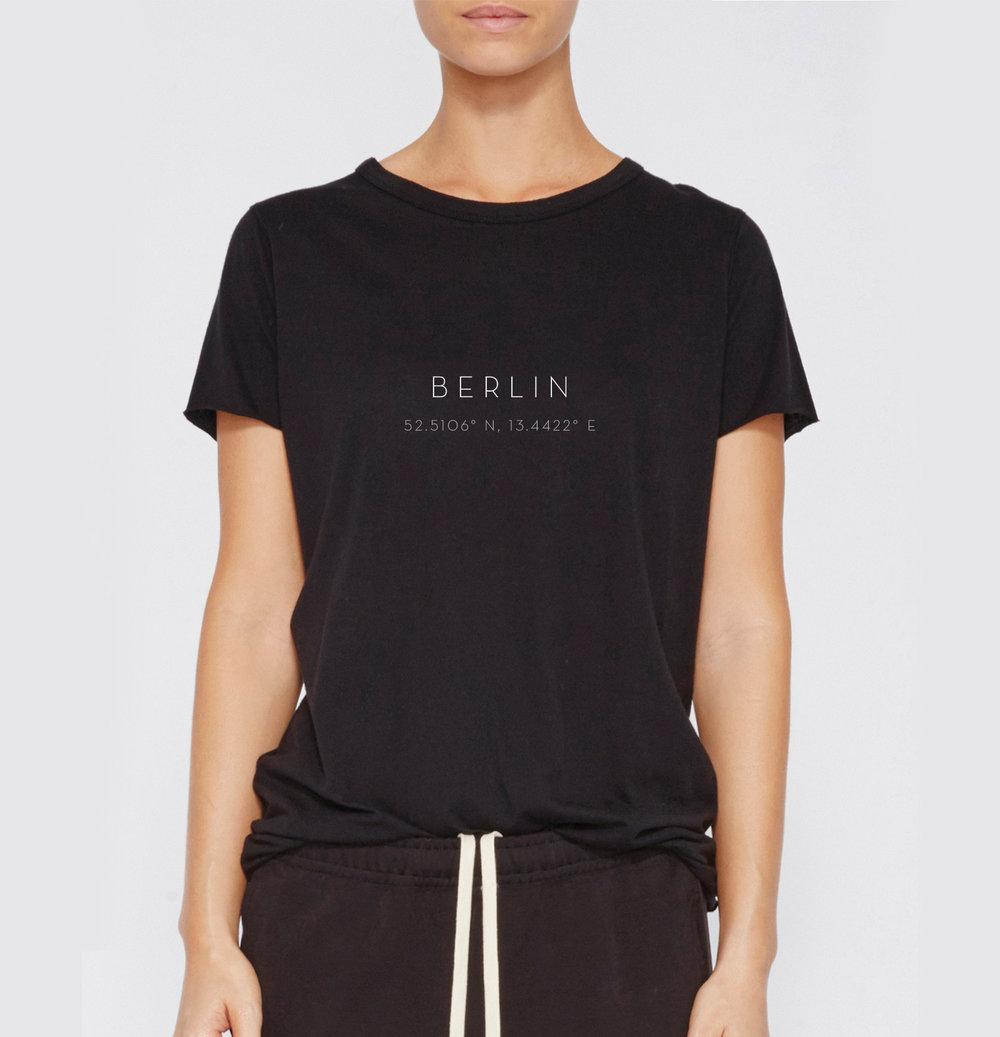 Berliner T-Shirt - Black women's t-shirt in S, M, L