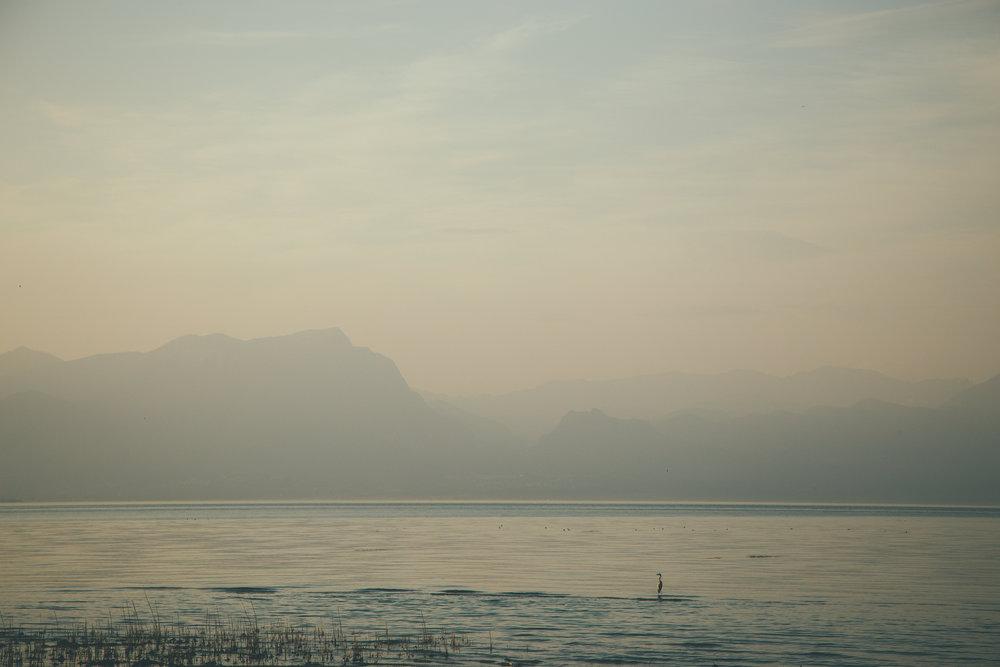 Lake Garda from Peschiera