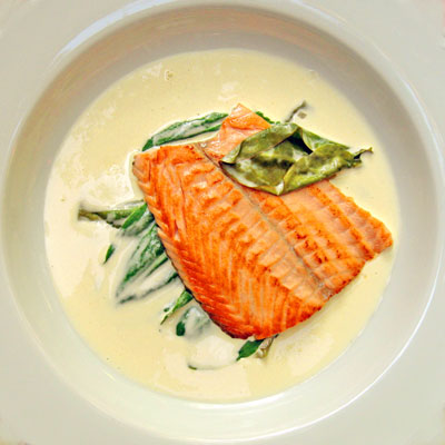 salmon trois gros hampton-roads French cooking classes