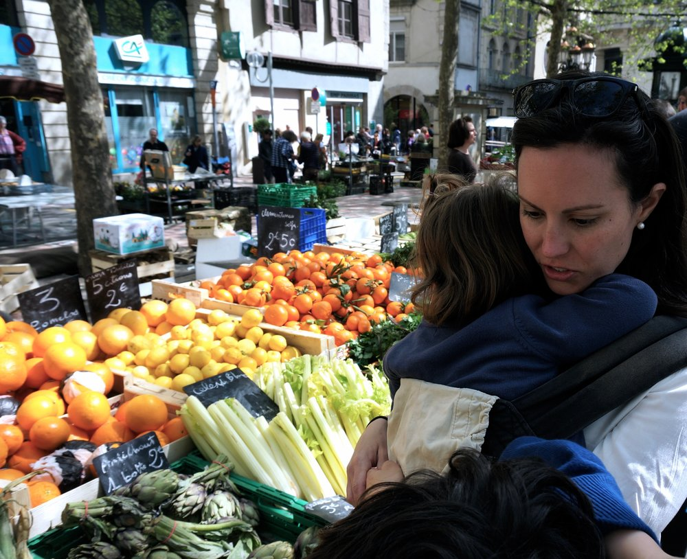 The wonders & joys of a French outdoor market