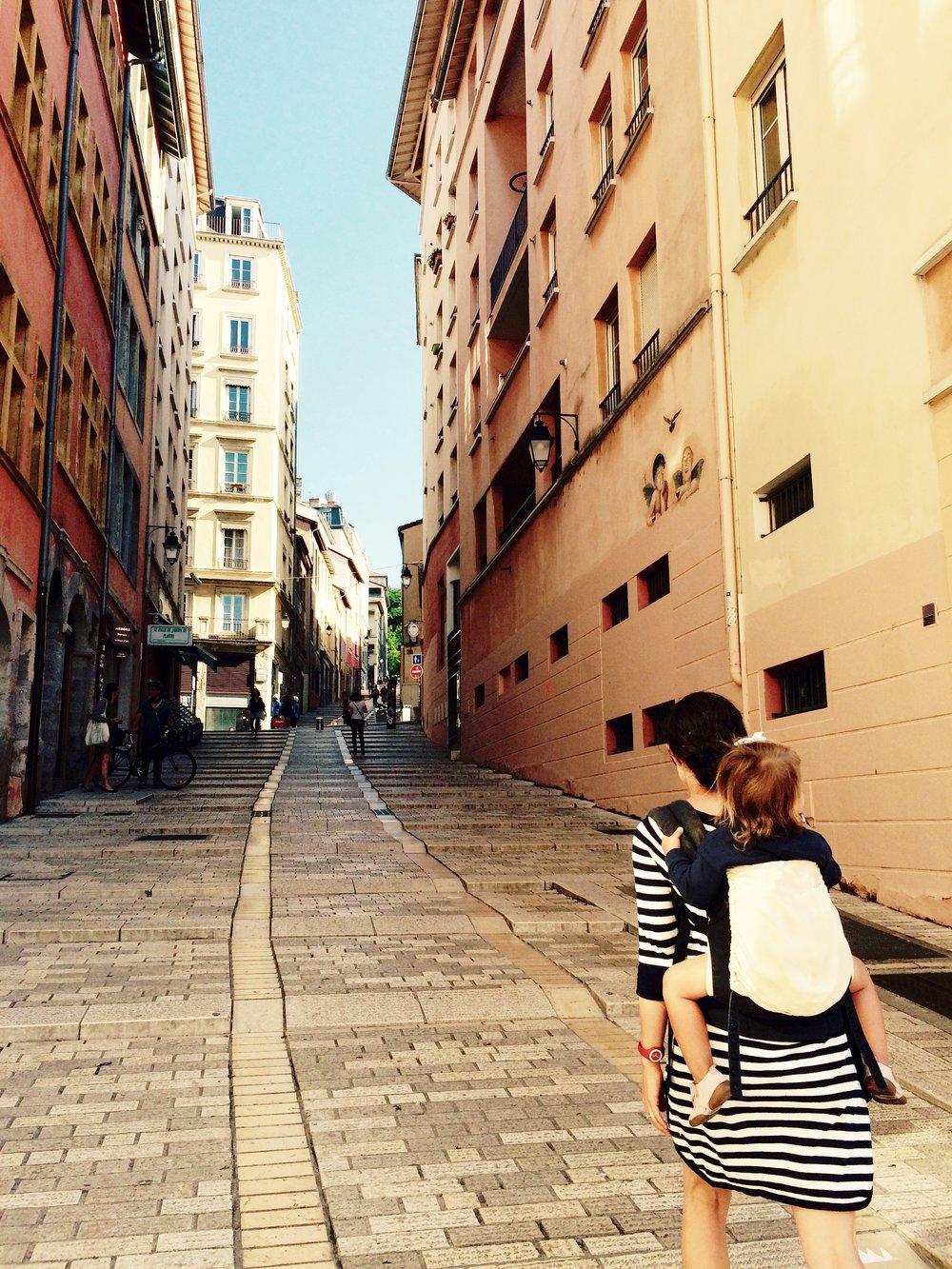 oldest street in lyon