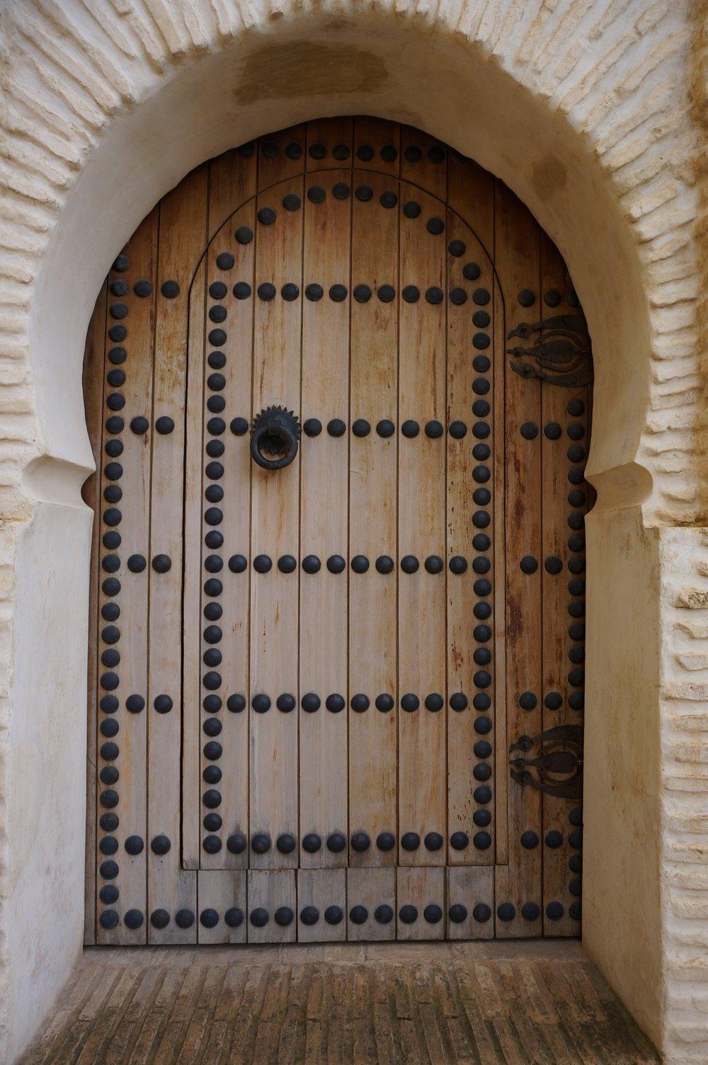 door in morocco