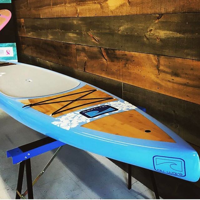 Bluwave boards are fully stocked! Swing by and come check them out! This week is looks like some awesome paddling weather 👌 - #sup #bluwave #bluesurf #paddle