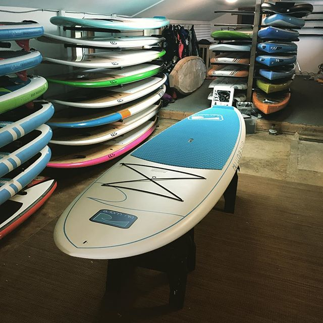 """Fully stoked with the new #Bluwave Amarda's. - Super durable. 10.8 feet long and 32"""" wide so anyone can take it for a spin! - Come check em out this weekend. 👌☀️🏄 - #sup #surf #paddle #collingwoodl"""