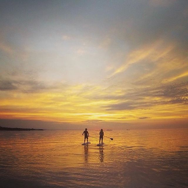 Pretty stoked for more paddles like this over the long weekend! - 👌🏄 - #sup #paddle #paddleboard #surf #goergainbay #water #beach