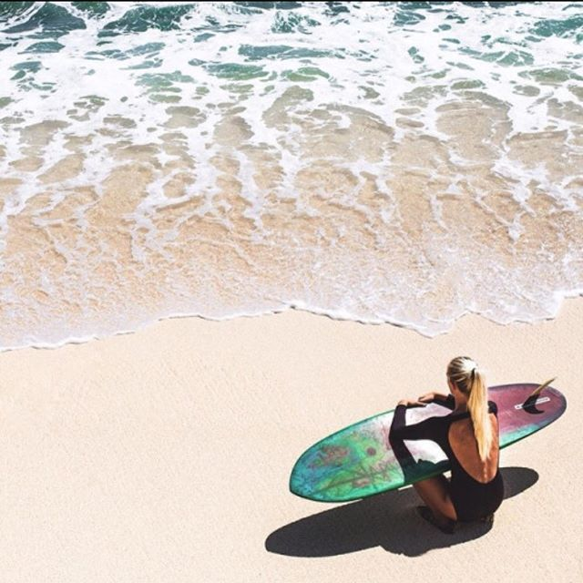 Patiently waiting for the sets to come in 🌊 - #surf #ocean #surfing #surflife