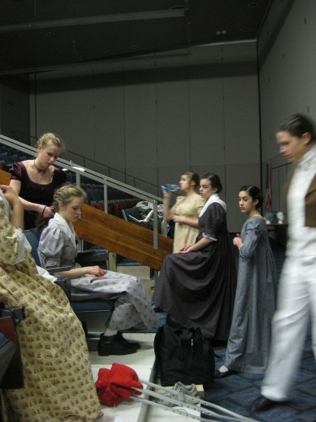 Play cuts day. Pride and Prejudice, 2009.