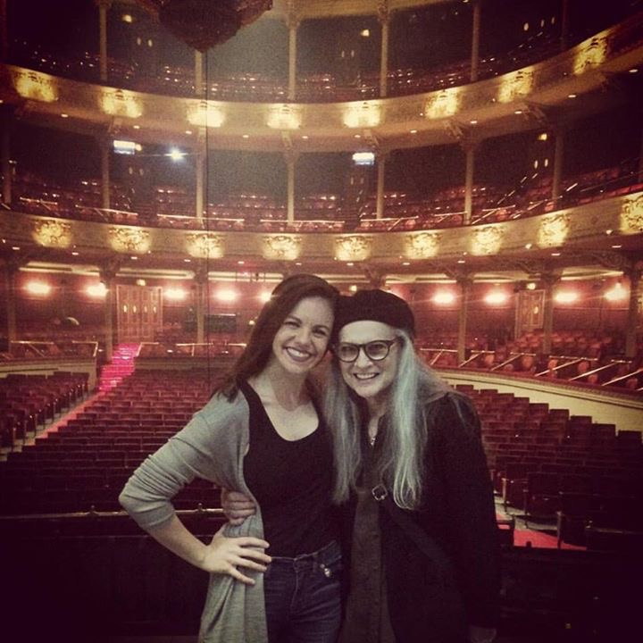 With Sandy after  The Phantom of the Opera . 2017.