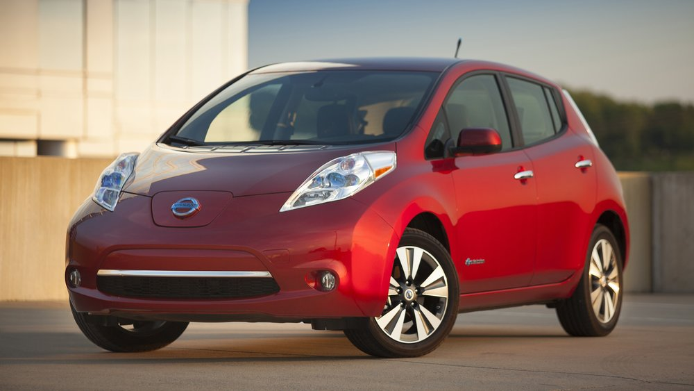Nissan Leaf - Smile for the camera!
