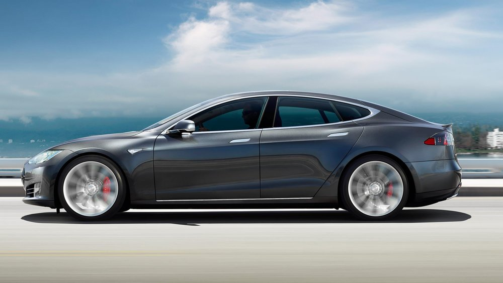 The Tesla Model S - Two trunks, what else do you need?
