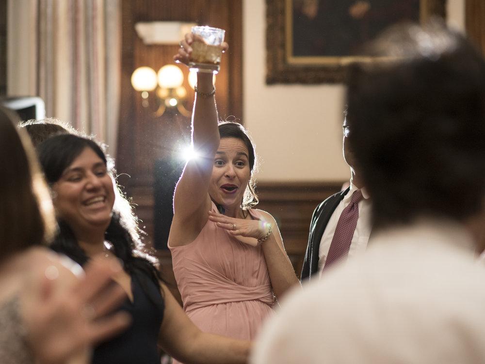 Mutter Museum Wedding Reception