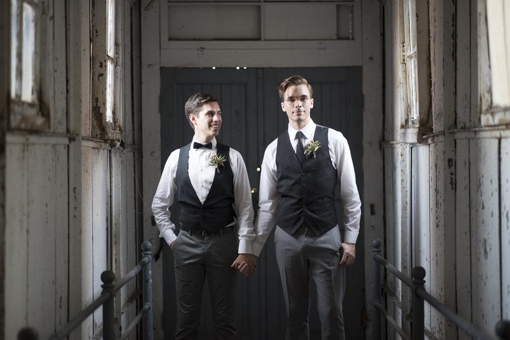 Wedding at the Art Factory NJ