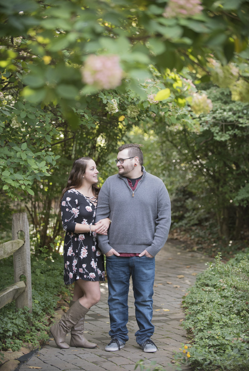 Sayen House and Garden Engagement Session
