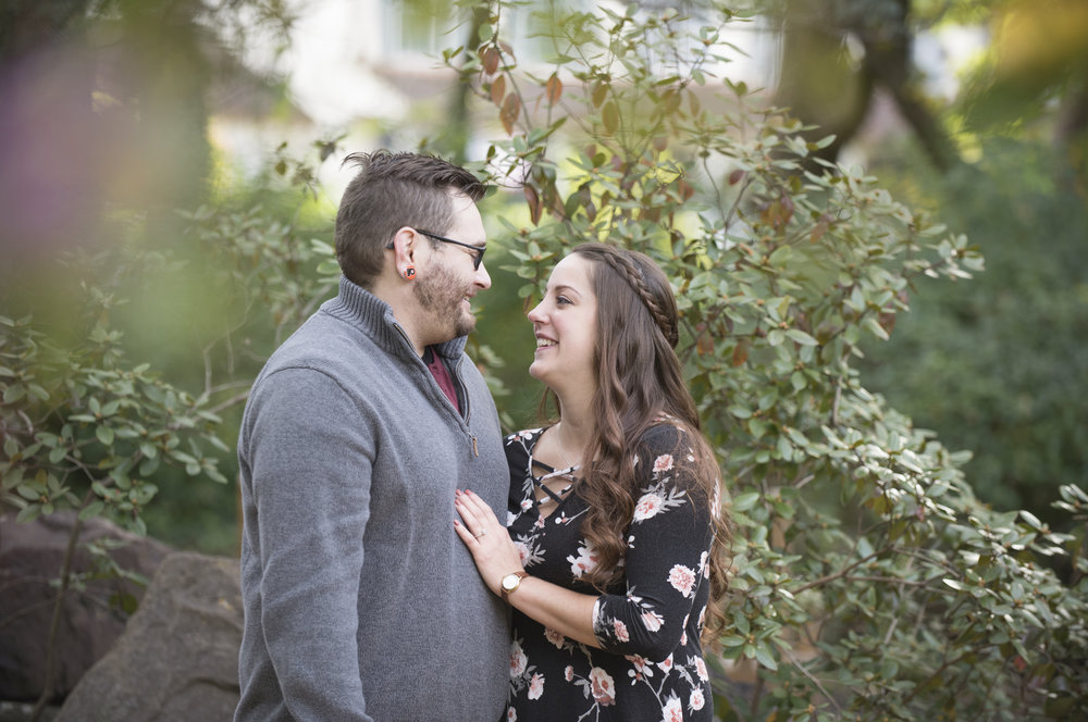 Sayen House and Gardens Engagement Session