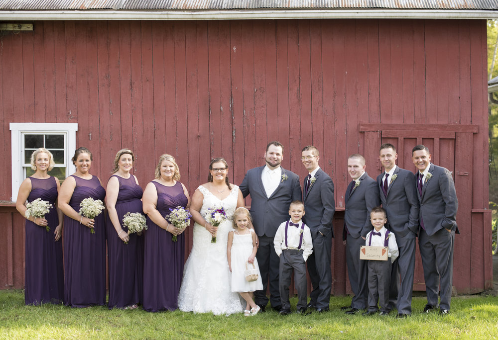 The Stone Barn Farm Wedding
