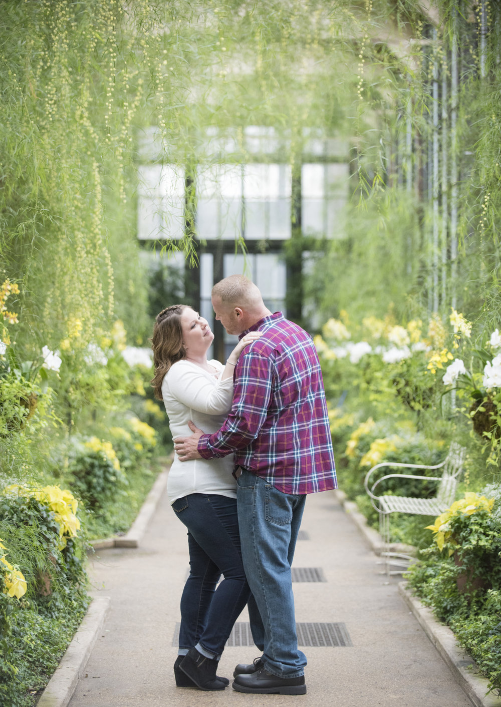 Longwood Gardens Engagement Photo Session