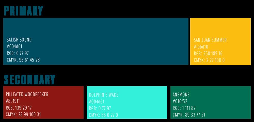 WSF color palette