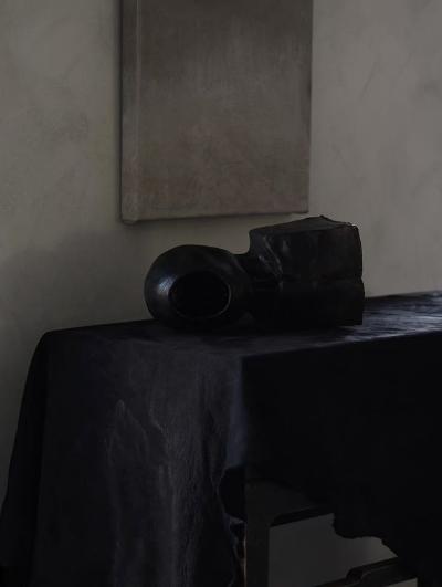 Twisted black hanging in Perspective Studio, Sweden