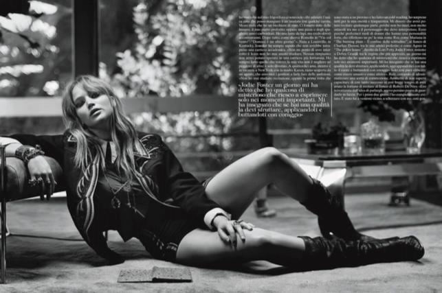 Vogue Italia- Jennifer Lawerence