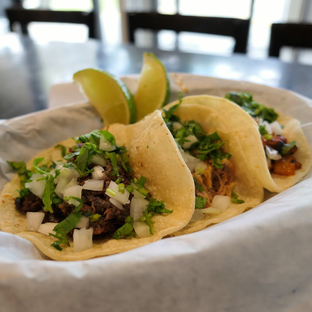 3 Tacos Your Way - Barbacoa, Carnitas, and Al Pastor