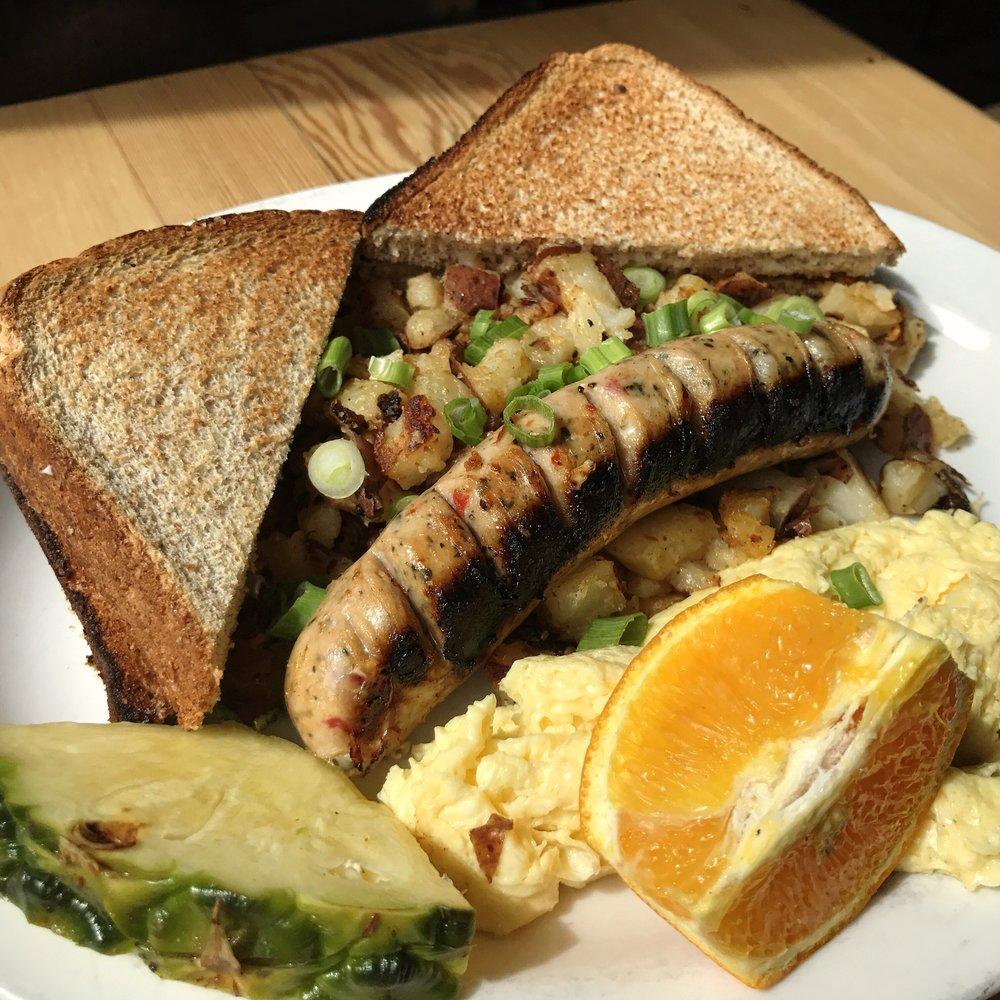 Tuscan Sausage and Eggs -