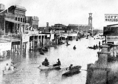 flooding in Sacramento, CA