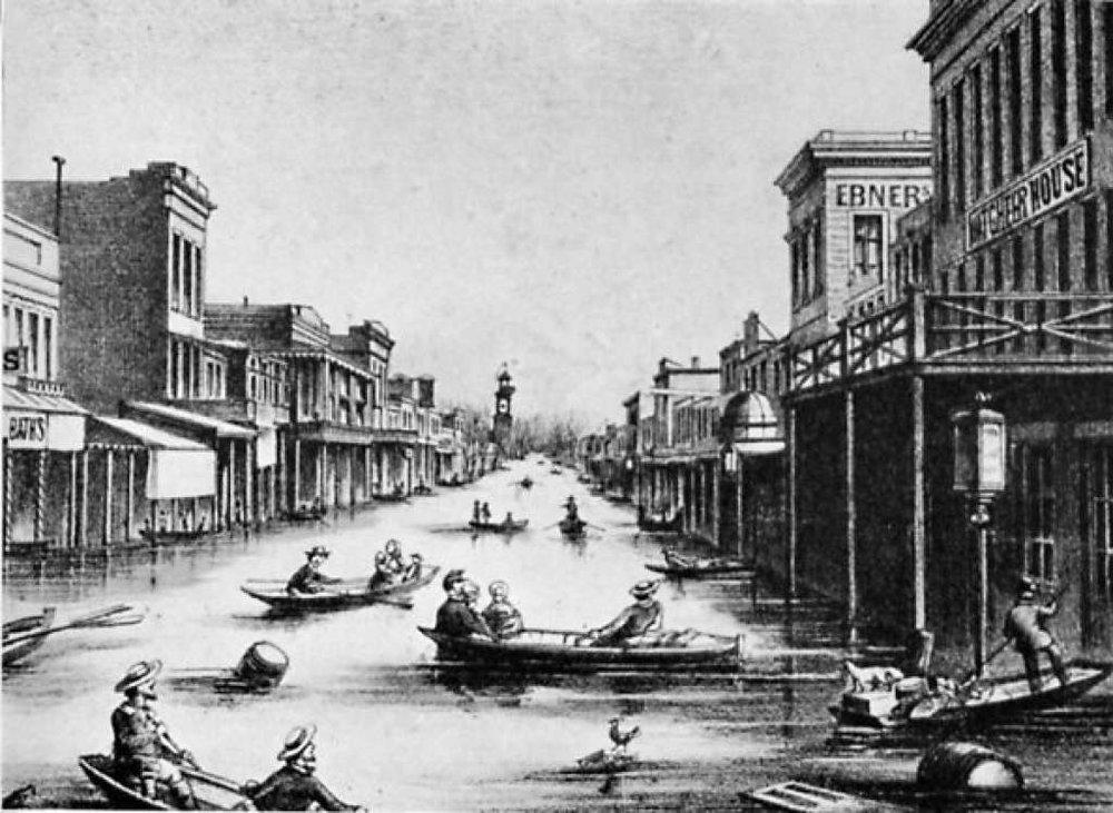 "newspaper rendering of ""Lake Sacramento"""