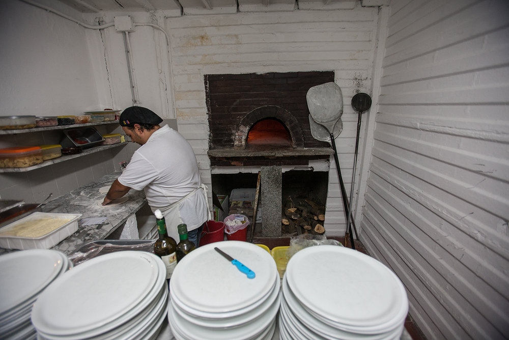 SLIDESHOW: Making pizza at Gypsy.