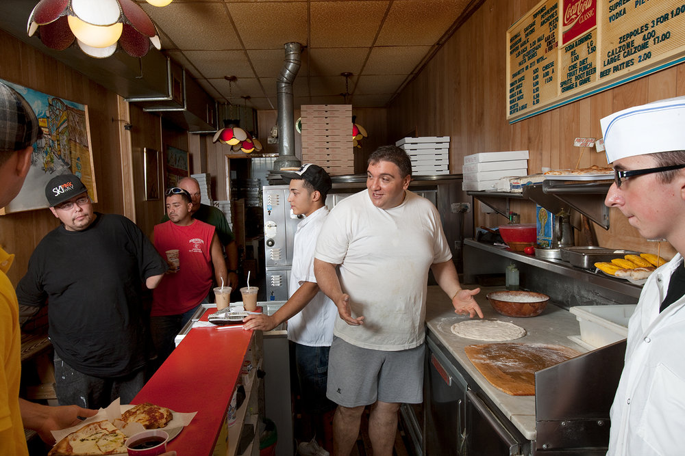 SLIDESHOW: Giovanni Lanzo, pizzaman for the people.