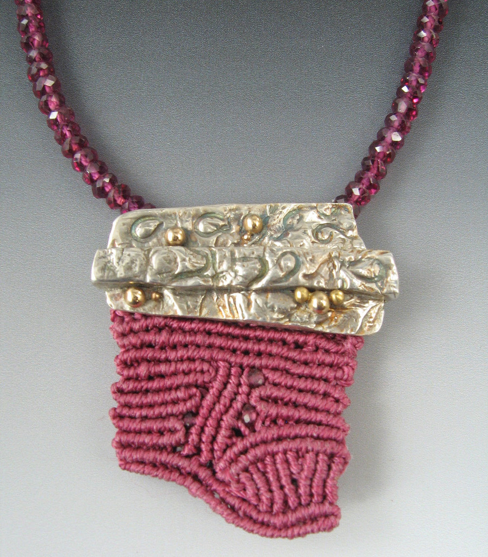 Strata Fiber and Silver Necklace.jpg