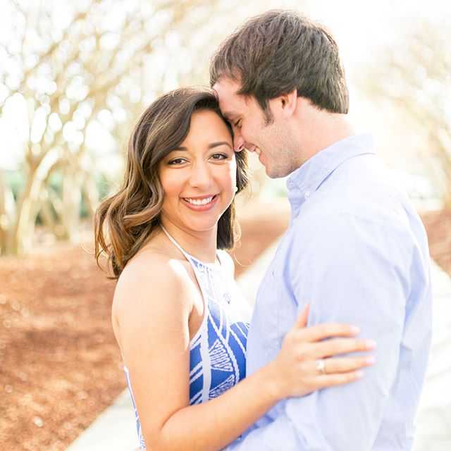 These cuties are featured on @howheasked, and you won't want to miss their sweet love story! And, y'all, THAT RING. 😍😍😍 Link in profile.