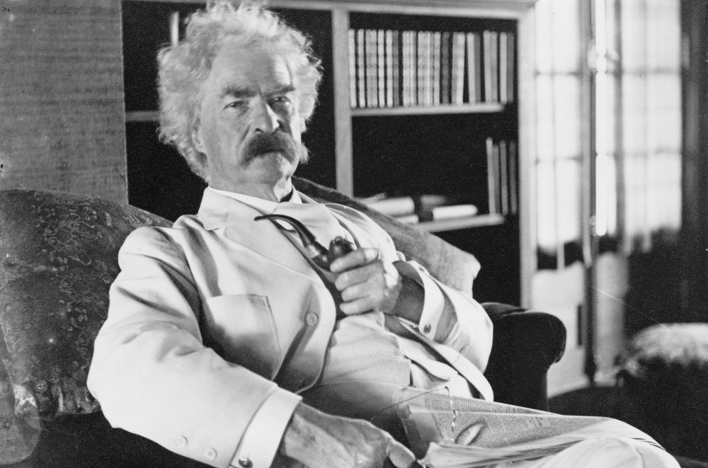 Mark Twain, my 4th cousin, 4 times removed