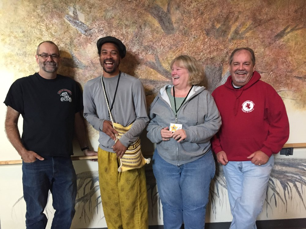 Paul, Hezekiah, Diane & Jeff