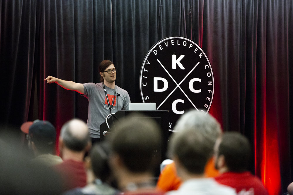 KCDC - Tiffany has done the photos for The Kansas City Developer Conference for the last two years. I recommend her to EVERYBODY! She does such a great job. I've never had attendees comment on the photos before, but they love her and her pictures. She's part of the family now.