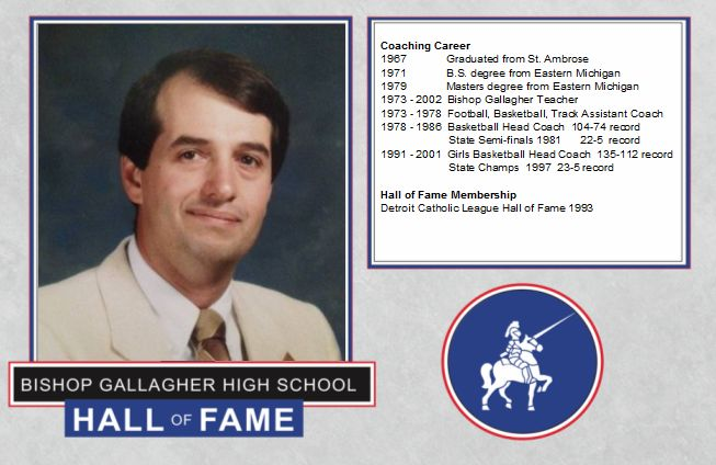 Ron biotti 2016 Lancer forever hall of fame inductee