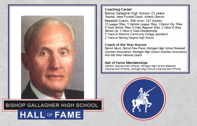 Jim Bresciami 2016 Lancer forever hall of fame inductee