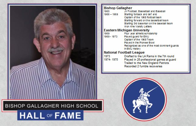 Bill dulac 2016 Lancer forever hall of fame inductee