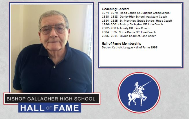 George flaviani 2016 Lancer forever hall of fame inductee