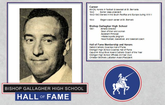 pete viviano 2016 Lancer forever hall of fame inductee
