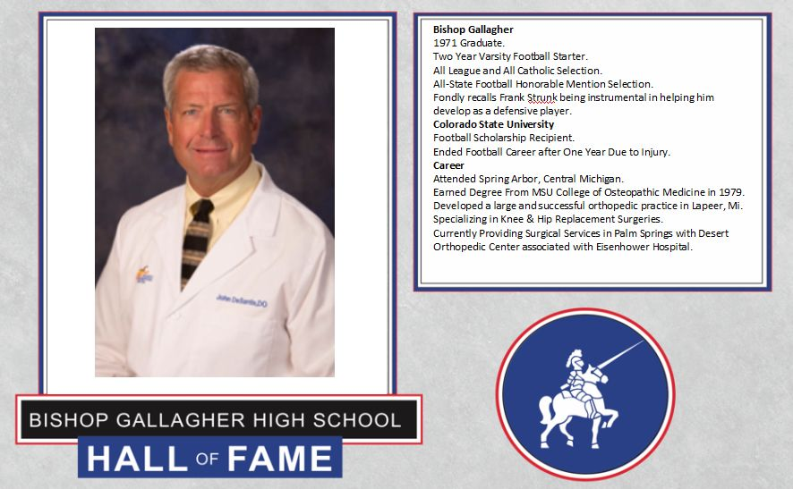 John DeSantis 2017 Lancer forever hall of fame inductee