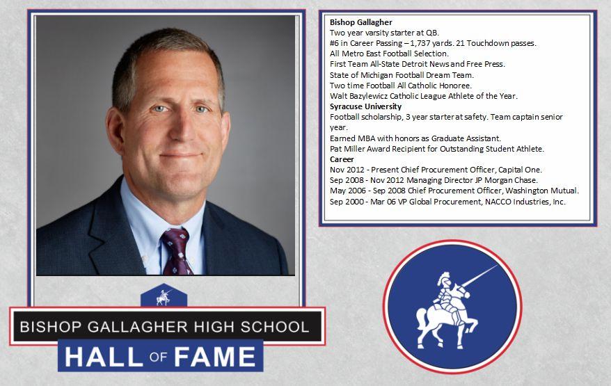 Jim gorzalski 2017 Lancer forever hall of fame inductee