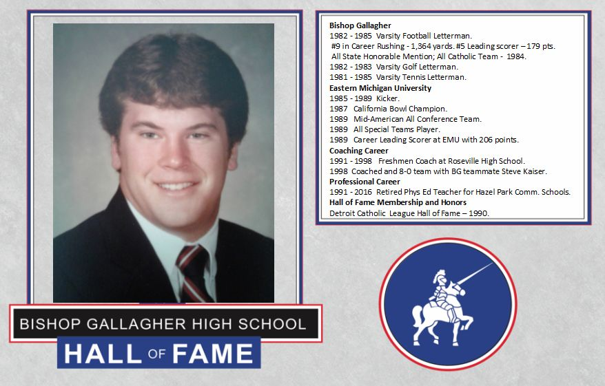 Tim henneghan 2017 Lancer forever hall of fame inductee