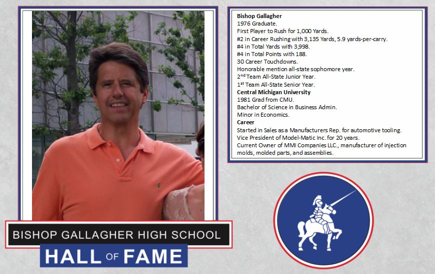Joe kosmalski 2017 Lancer forever hall of fame inductee