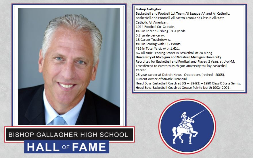 dave stavale 2017 Lancer forever hall of fame inductee